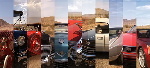 Cadillac-Collage © GM